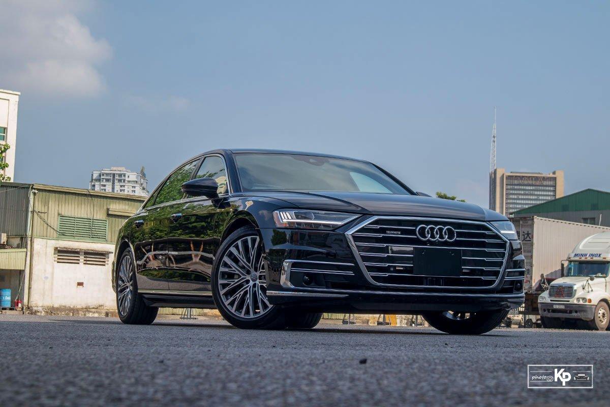Ảnh Tổng quát xe Audi A8L 2021
