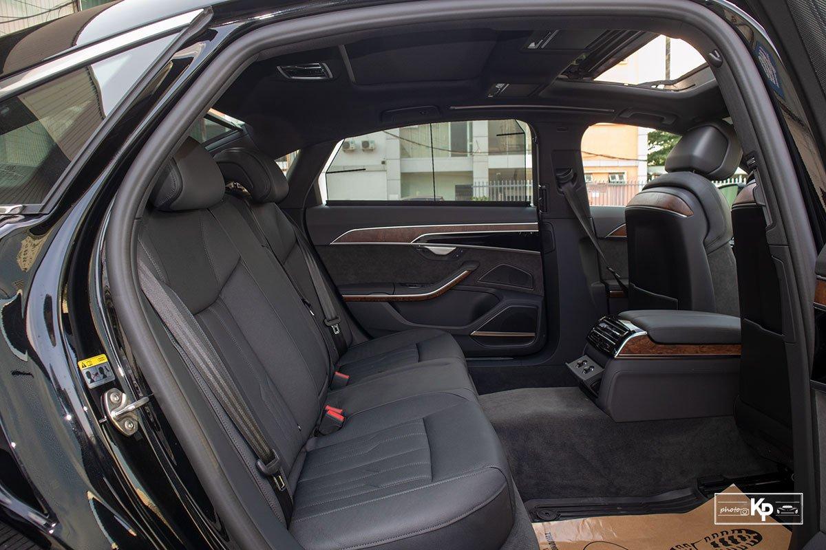 Ảnh Ghế sau xe Audi A8L 2021
