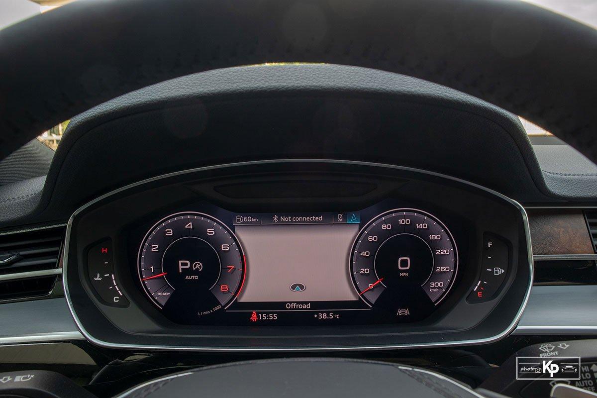 Ảnh Đồng hồ xe Audi A8L 2021