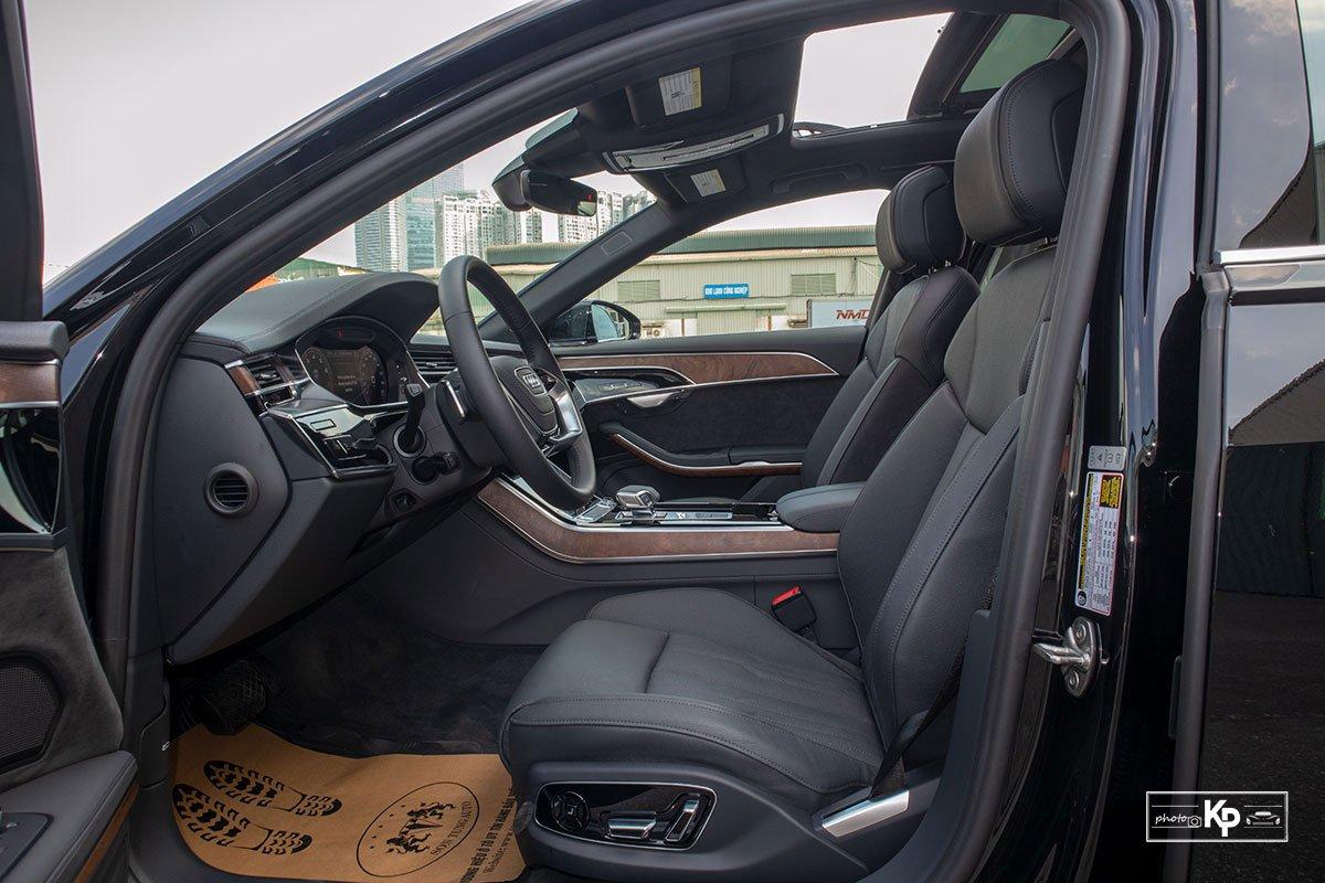 Ảnh Ghế lái xe Audi A8L 2021