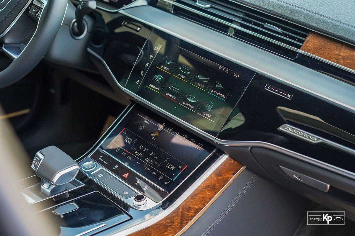 Ảnh Màn hình xe Audi A8L 2021