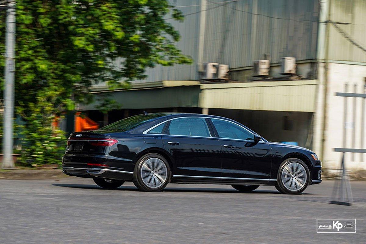 Ảnh Vận hành xe Audi A8L 2021 a1