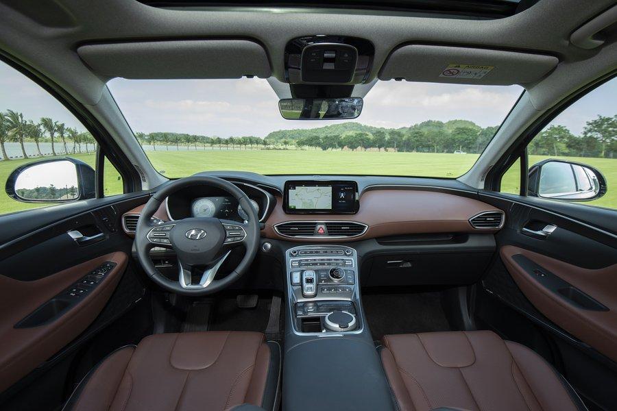 Soi những điểm nhấn đặc biệt trên Hyundai Santa Fe 2021 7