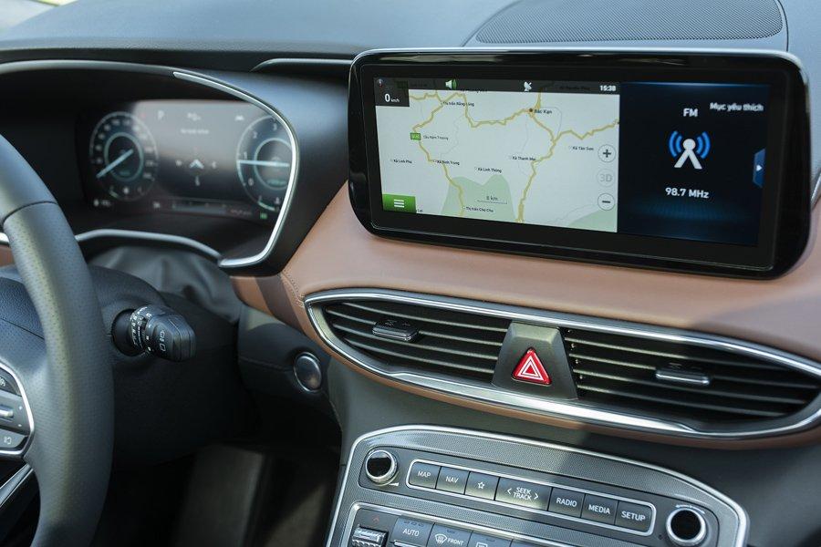 Soi những điểm nhấn đặc biệt trên Hyundai Santa Fe 2021 a8