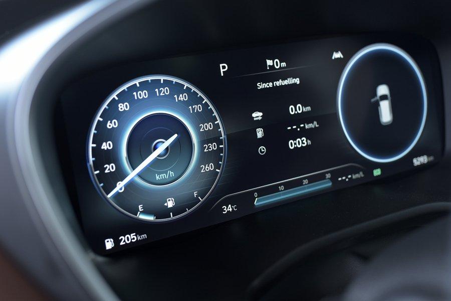 Soi những điểm nhấn đặc biệt trên Hyundai Santa Fe 2021 a9