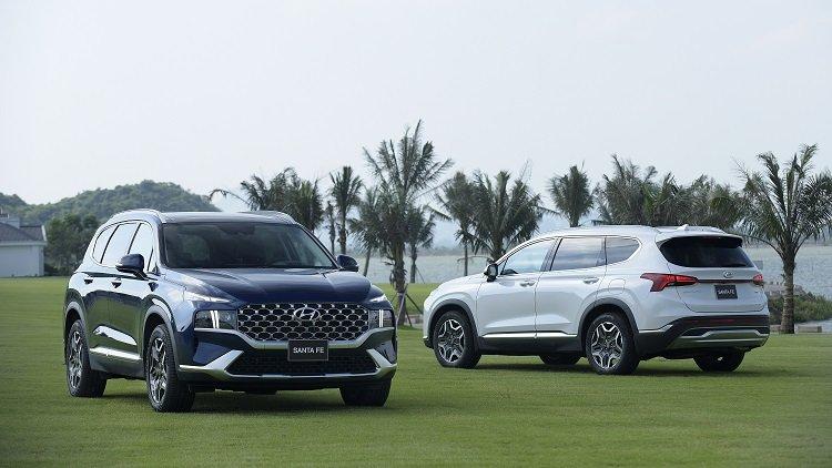 Giá xe Hyundai Santa Fe 2021 mới nhất tại Việt Nam1.