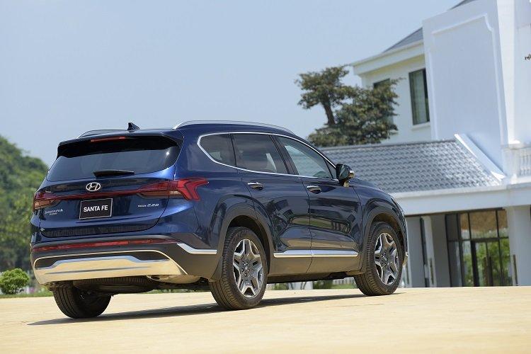Giá xe Hyundai Santa Fe 2021 mới nhất tại Việt Nam4.