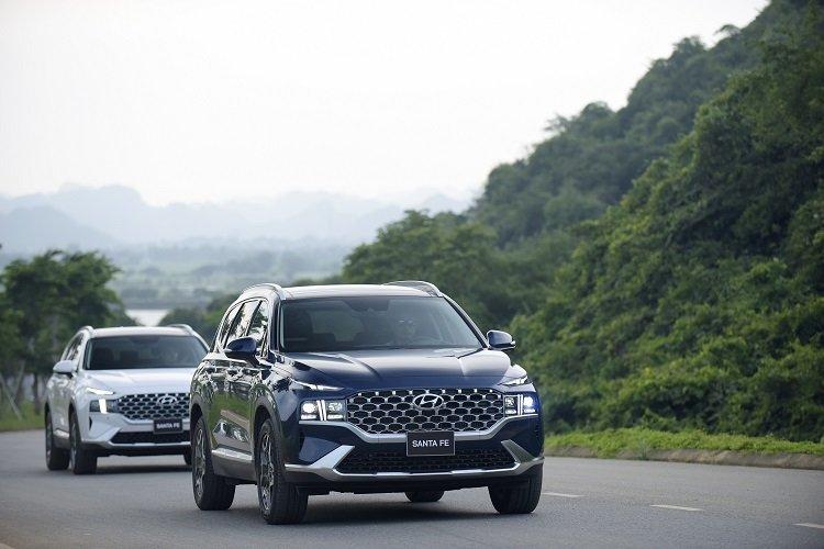 Giá xe Hyundai Santa Fe 2021 mới nhất tại Việt Nam56.