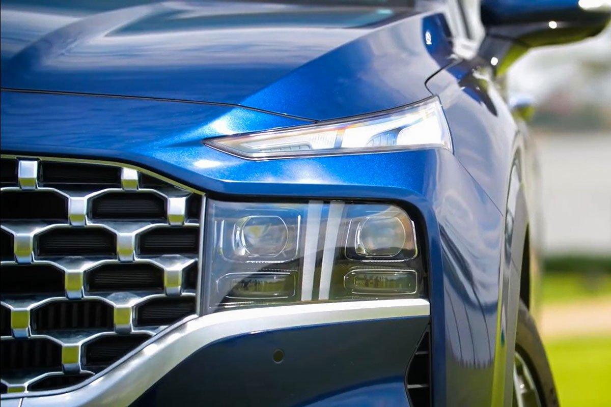 Chốt giá 1,340 tỷ đồng, Hyundai Santa Fe 2021 Dầu cao cấp có gì để cạnh tranh với Kia Sorento? a5