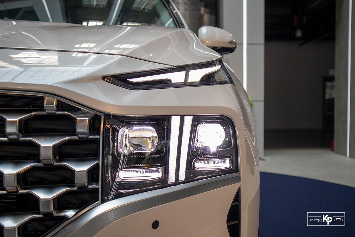 Ảnh Đèn pha xe Hyundai Santa Fe 2021 a1