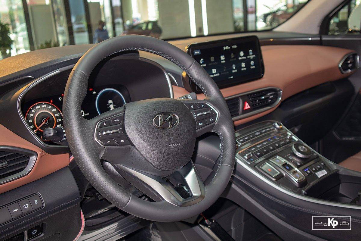 Ảnh Vô-lăng xe Hyundai Santa Fe 2021