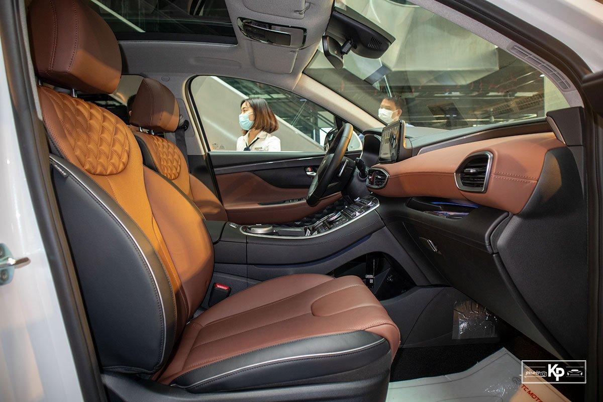 Ảnh Ghế phụ xe Hyundai Santa Fe 2021