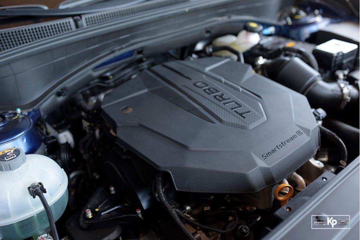 Ảnh Động cơ xe Hyundai Santa Fe 2021 a1a