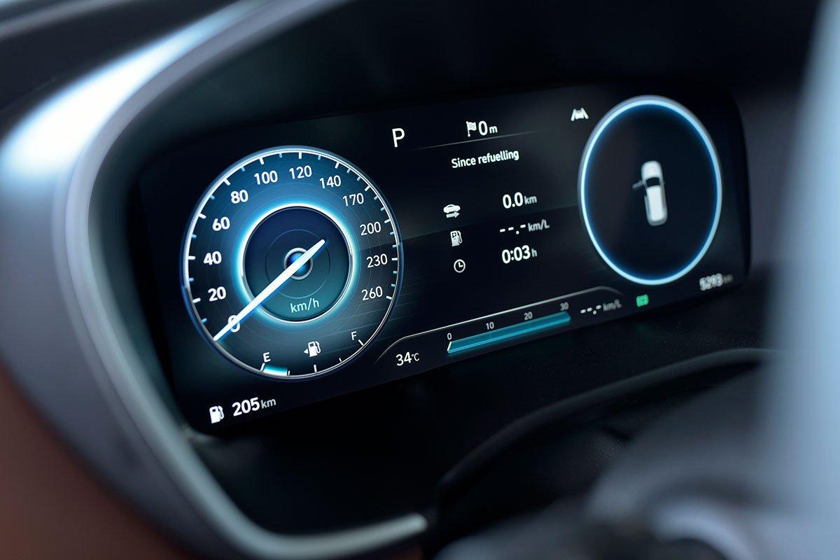 Chốt giá 1,340 tỷ đồng, Hyundai Santa Fe 2021 Dầu cao cấp có gì để cạnh tranh với Kia Sorento? a15