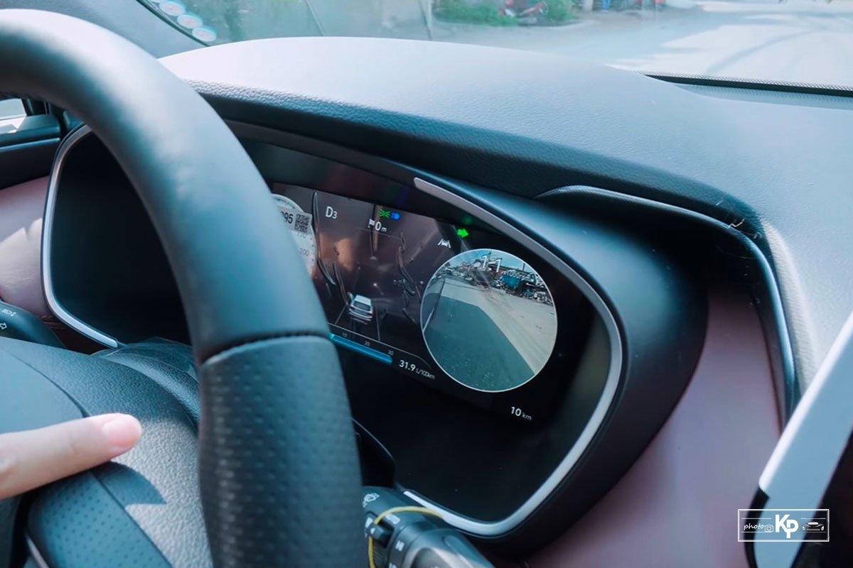 Ảnh Điểm mù xe Hyundai Santa Fe 2021 a1