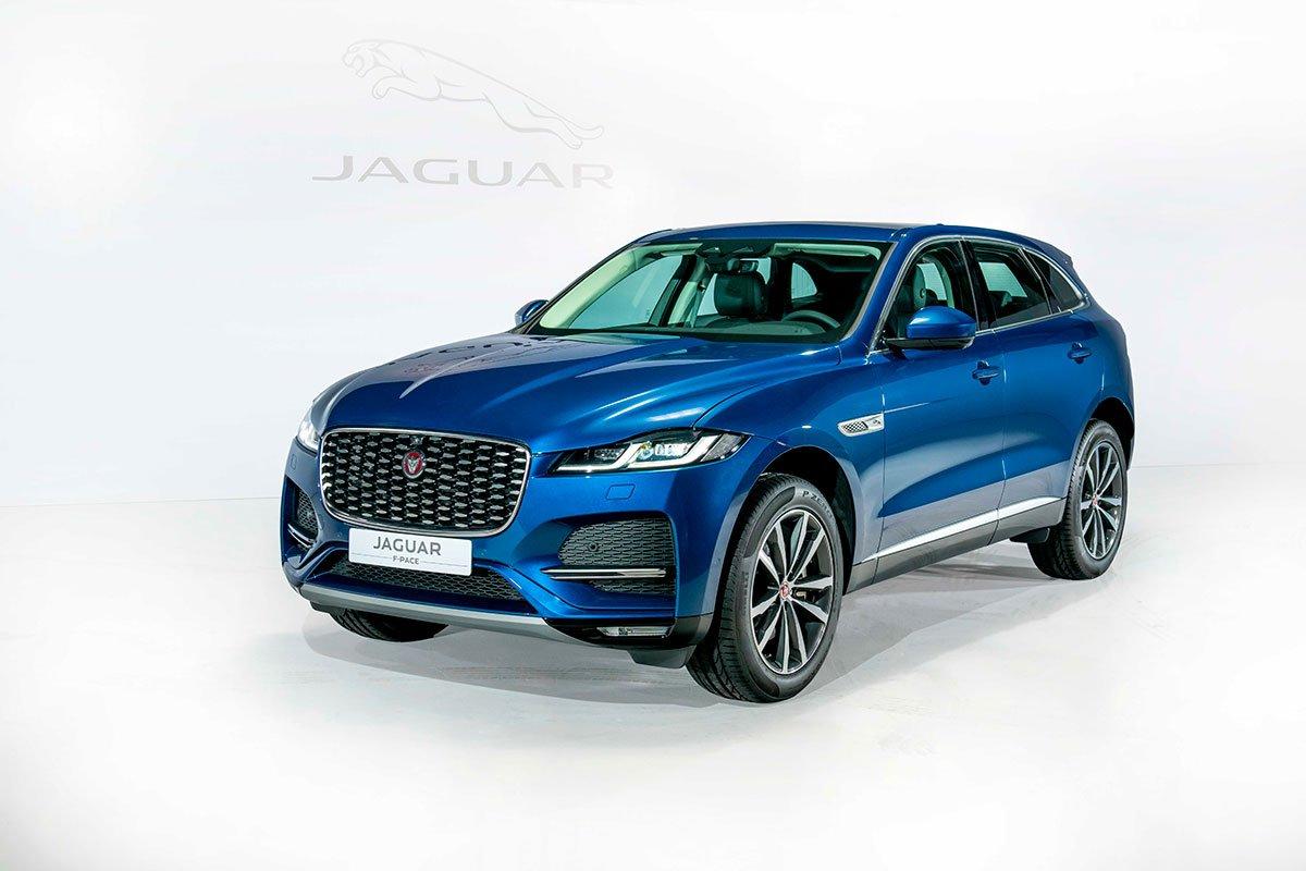 Jaguar XF và Jaguar F-Pace 2021 ra mắt, sẵn sàng đến tay khách hàng Việt a13