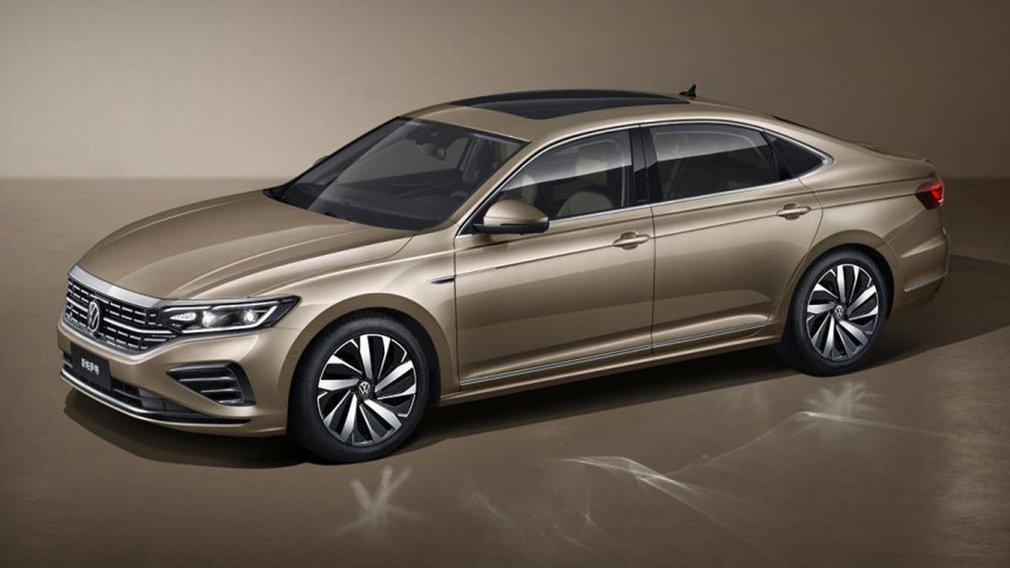 Volkswagen Passat 2022 cập nhật mới với nhiều tinh chỉnh thiết kế.