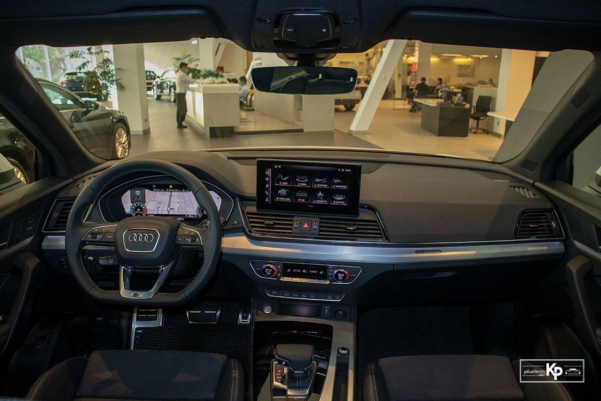 Nội thất xe Audi Q5.