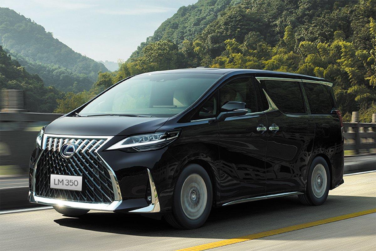 Giá xe Lexus LM 350 2021 mới nhất1