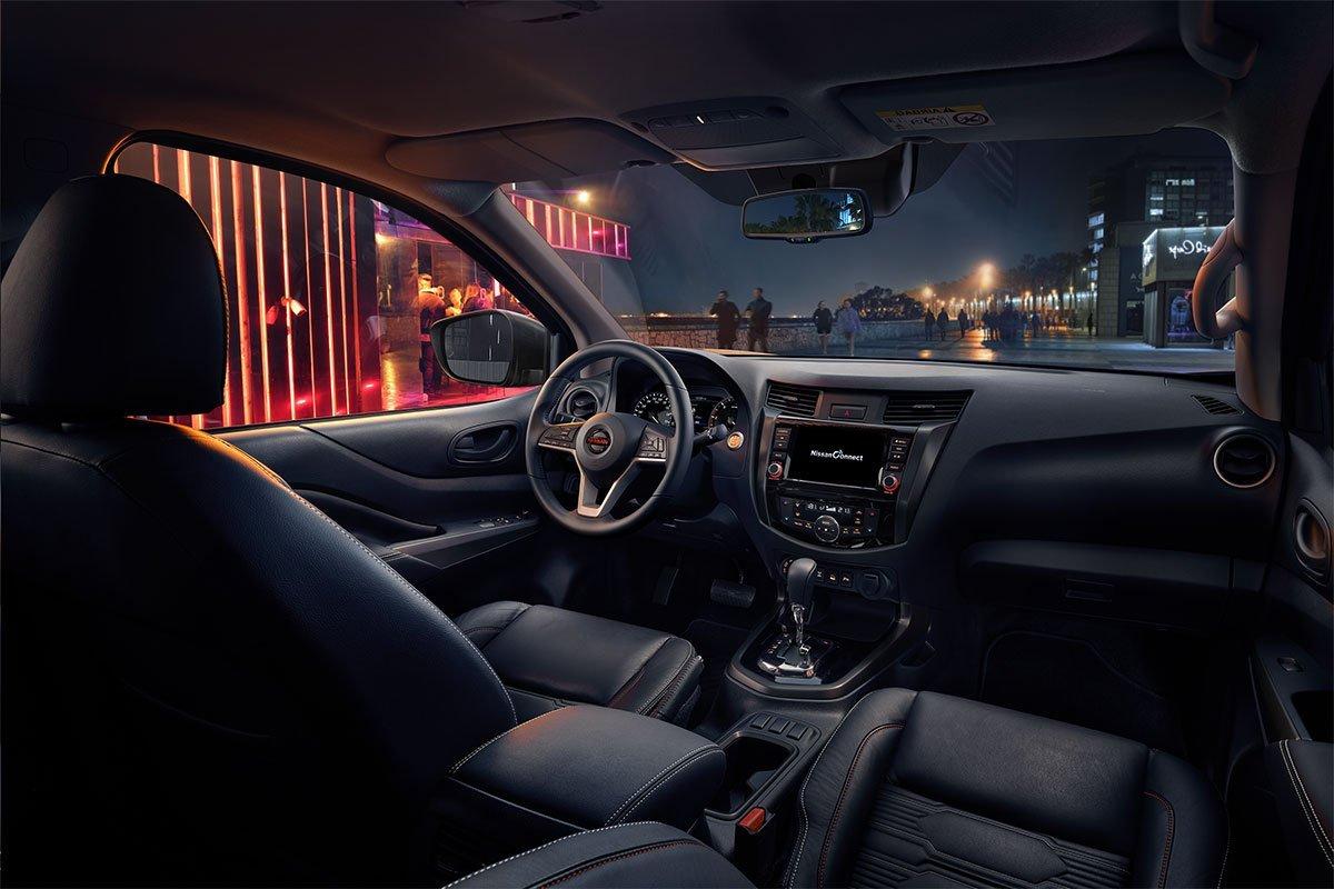 Thiết kế nội thất của Nissan Navara 2021.