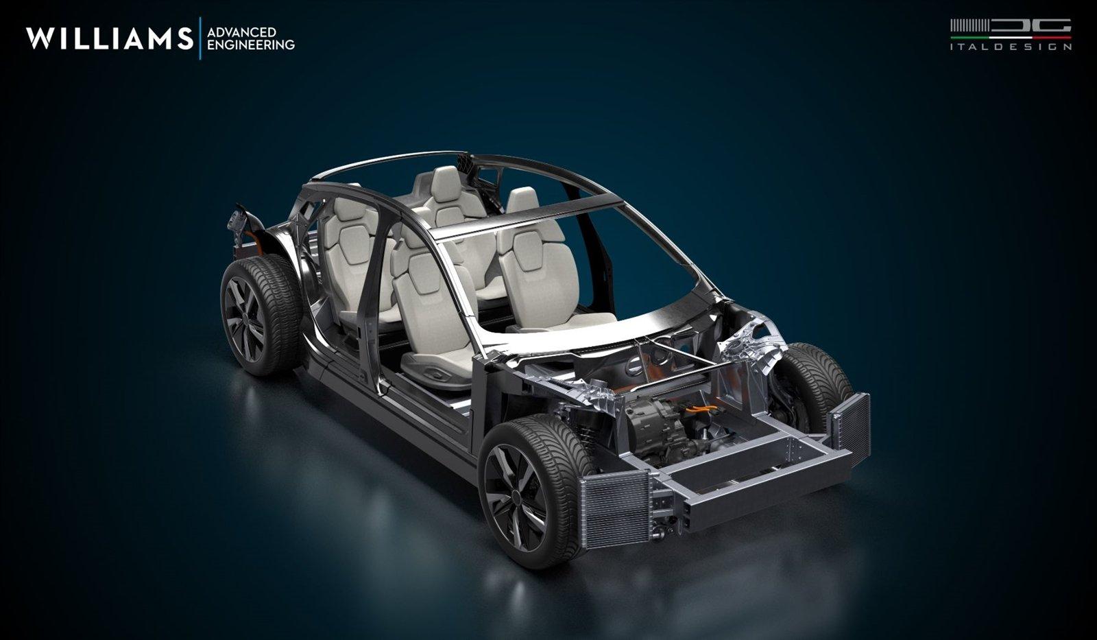 Italdesign sẽ chịu trách nhiệm thiết kế dáng xe theo yêu cầu của khách hàng