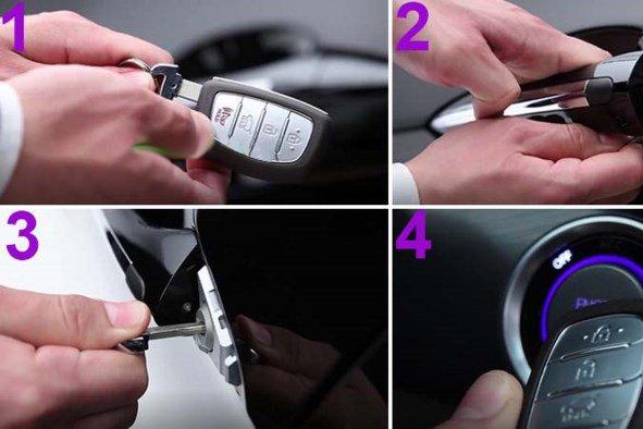 Tài xế có thể thực hiện theo các bước sau để mở khóa.