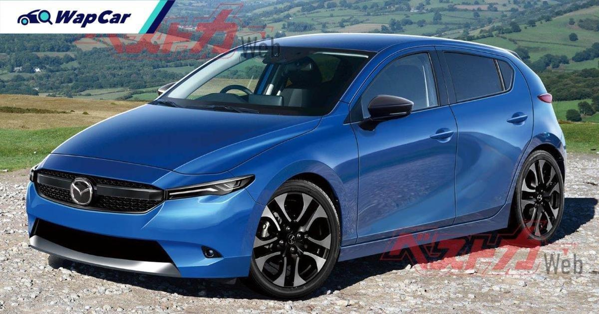 Mazda 2 Hybrid 2022 sẽ sớm xuất hiện ?