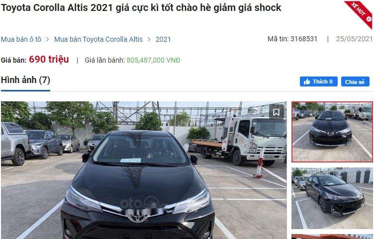 Toyota Corolla Altis giảm sốc hơn 70 triệu đồng, một số đại lý mạnh tay chơi lớn