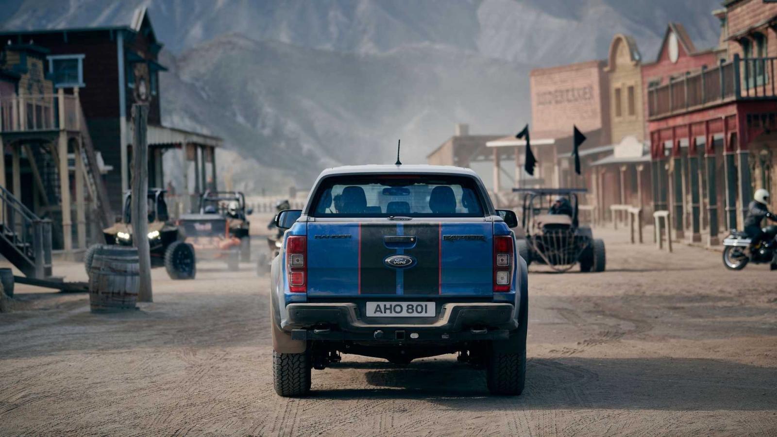 Ford Ranger Raptor Special Edition sở hữu tính đa dụng cao.