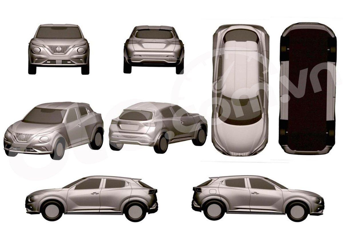 Nissan Juke có kế hoạch mở bán lại tại Việt Nam, lộ diện toàn bộ hình ảnh thiết kế.