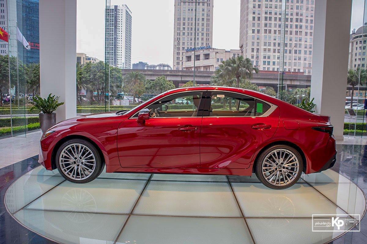 ngoại thất Lexus IS 2021.