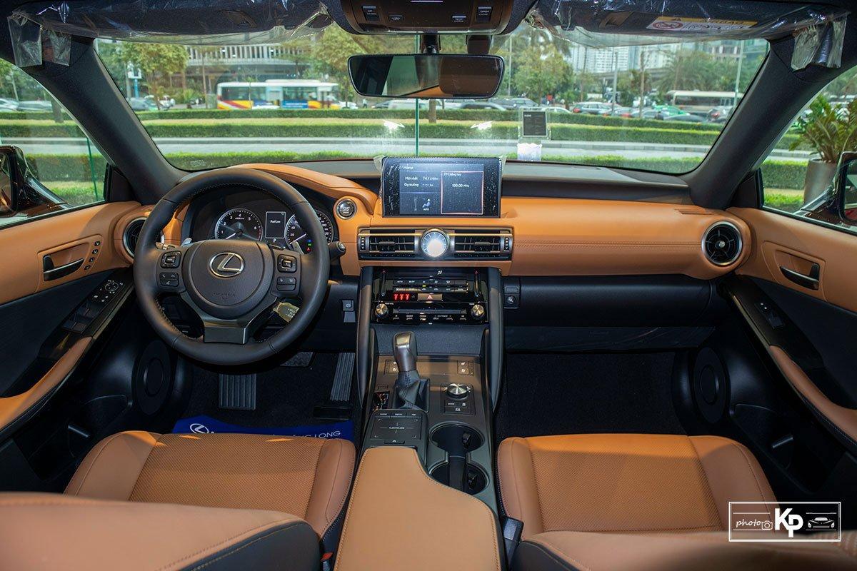 nội thất Lexus IS