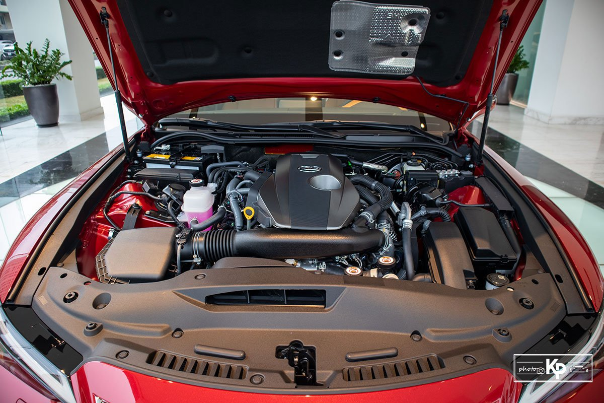 Động cơ Lexus ES 2021 mới nhất.