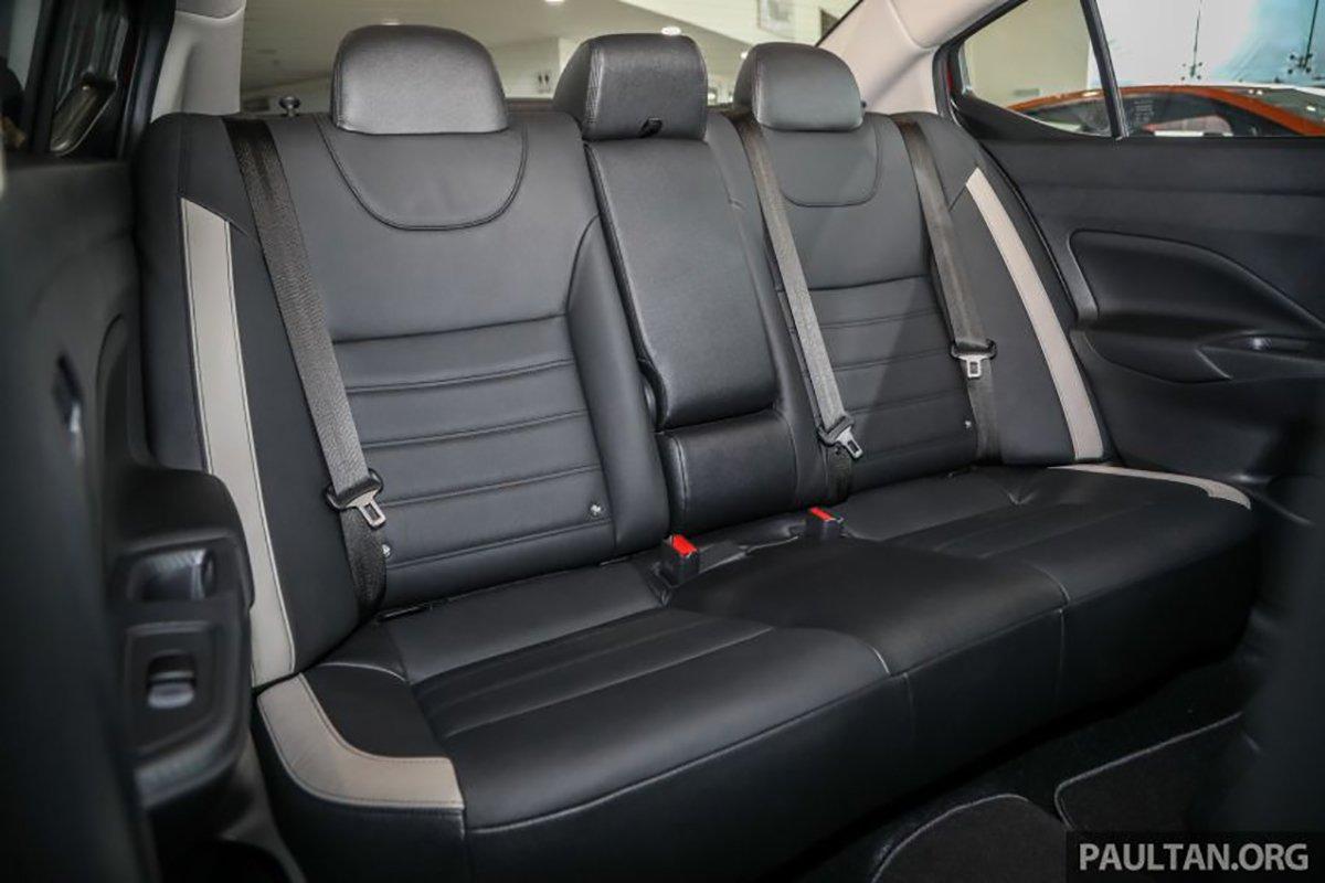 Nội thất Nissan Almera 2021.