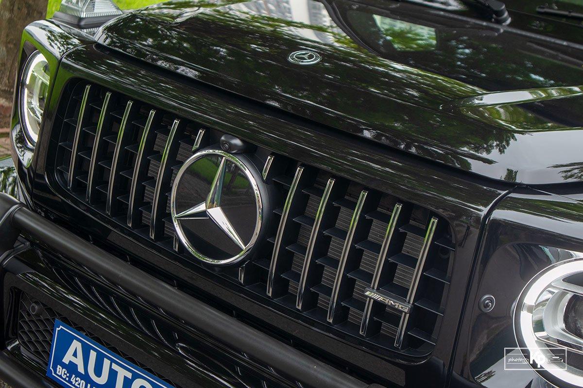ảnh Lưới tản nhiệt xe Mercedes-AMG G63 2021