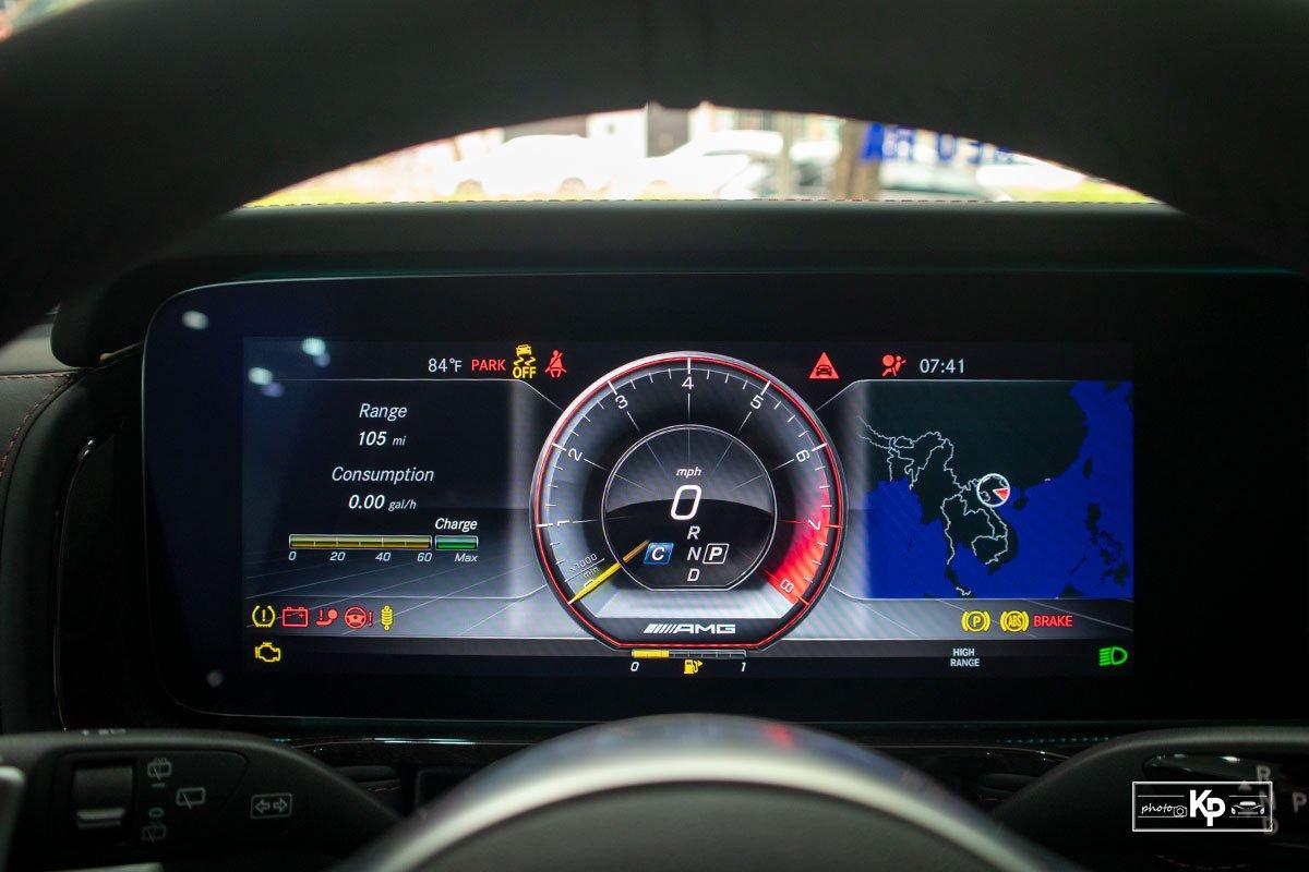 ảnh Đồng hồ xe Mercedes-AMG G63 2021