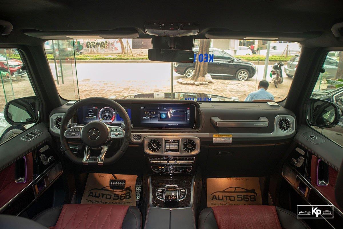 ảnh Nội thất xe Mercedes-AMG G63 2021