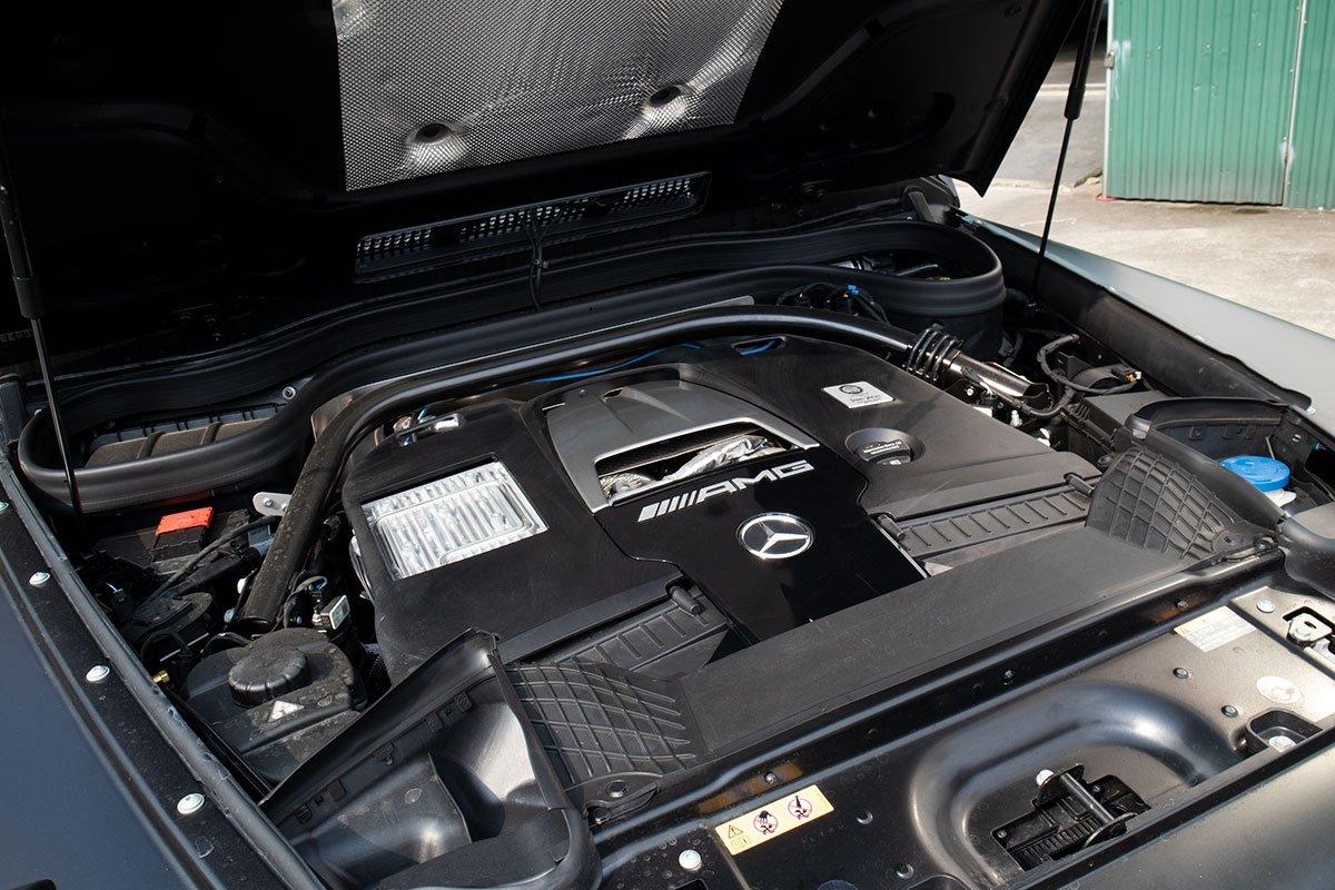 ảnh Động cơ xe Mercedes-AMG G63 2021