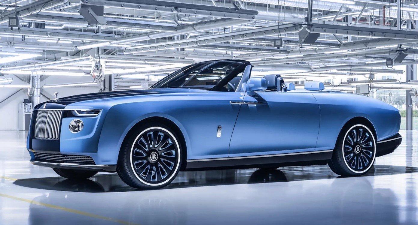 Rolls-Royce 'Boat Tail' trị giá 28 triệu USD.