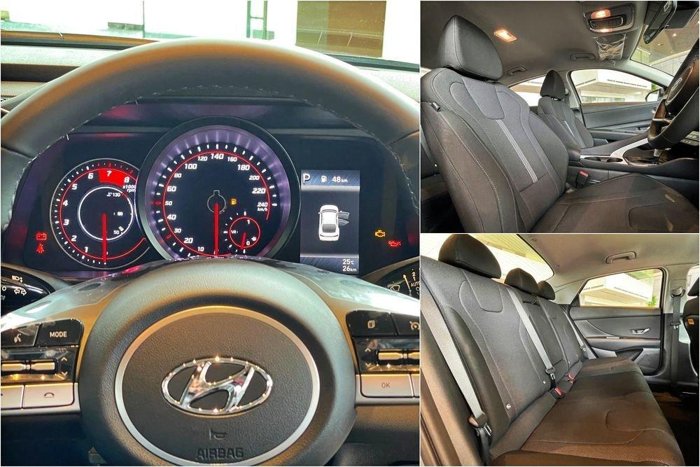 Hyundai Elantra 2021 điều chỉnh trang bị kèm theo để phù hợp với giá thành ưu ái hơn.