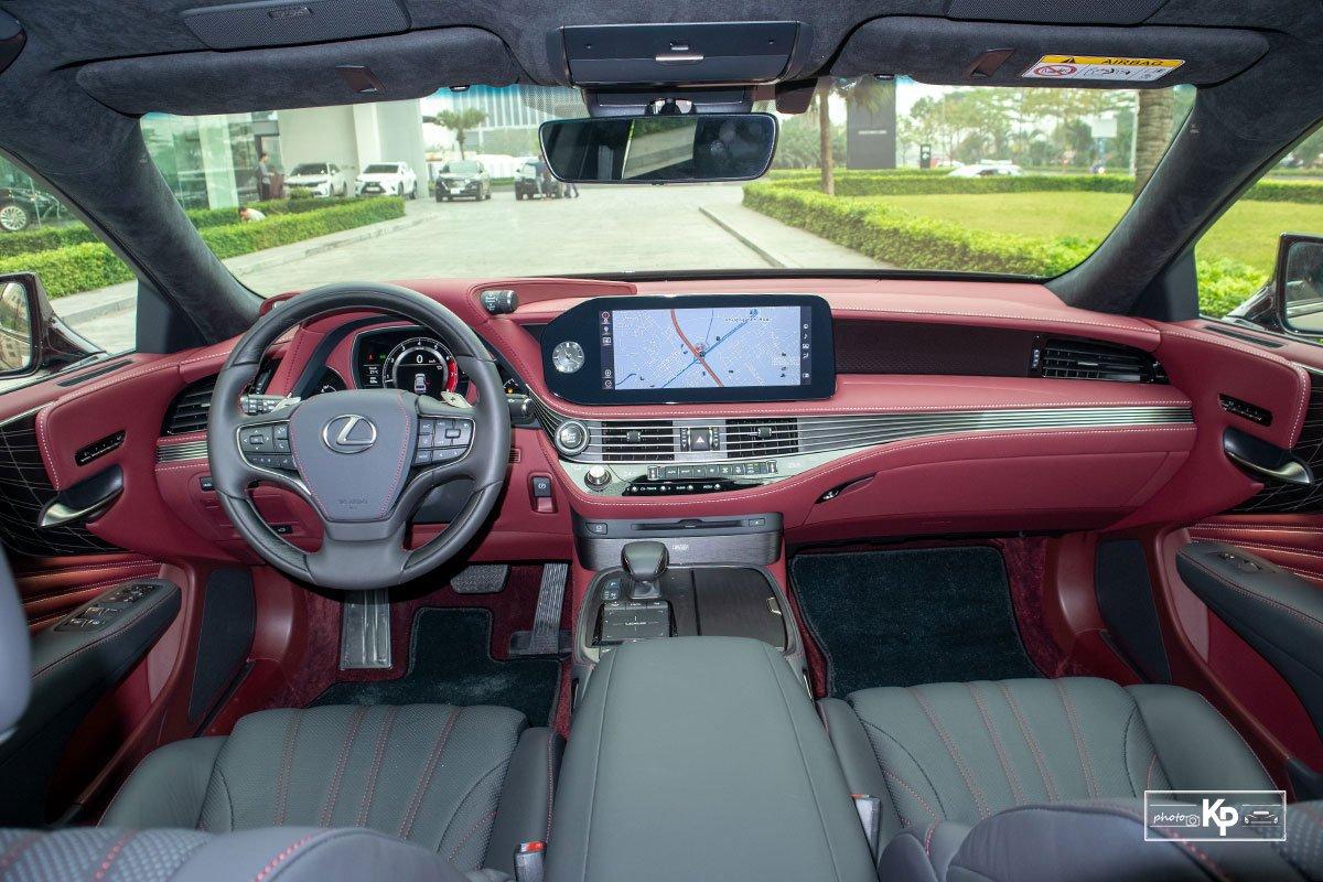 Nội thất Lexus LS 2021 mới nhất