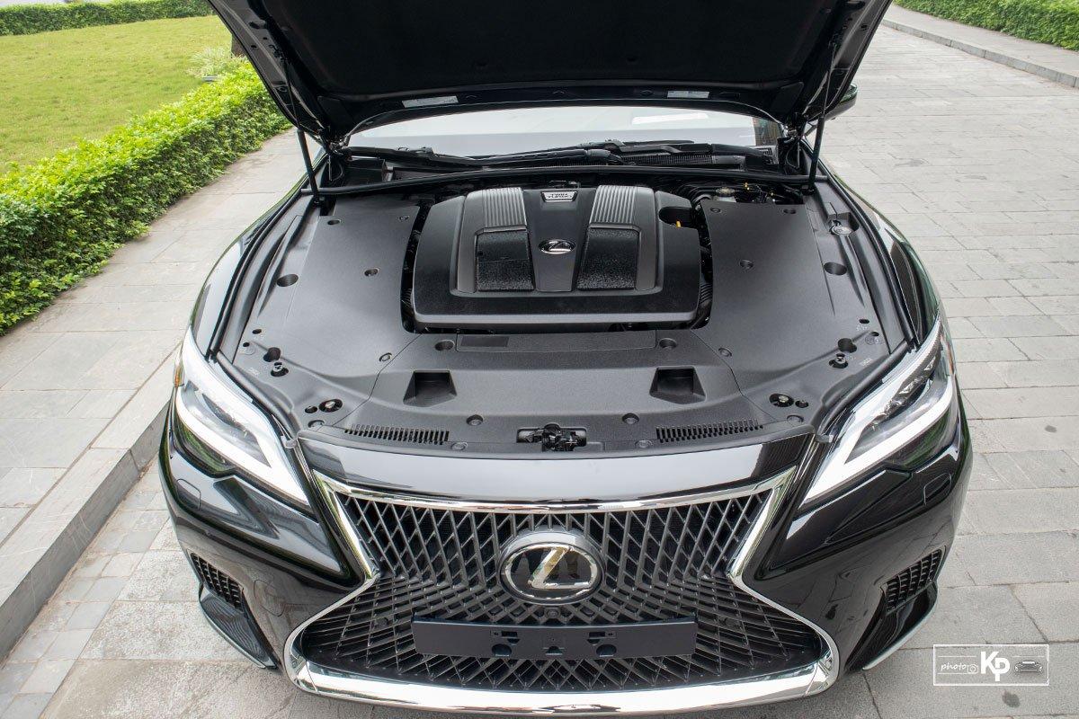 Động cơ trên Lexus LS 2021 mới nhất
