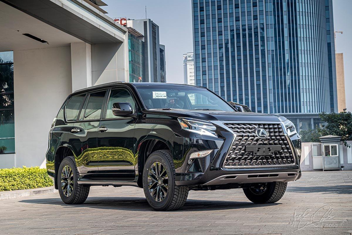 Lexus GX 460 2021 nâng cấp tăng giá lên 5,690 tỷ đồng