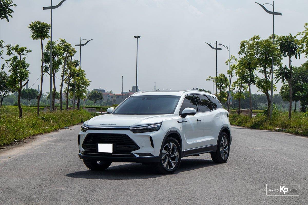 Ảnh giới thiệu xe Baic Beijing X7 2021