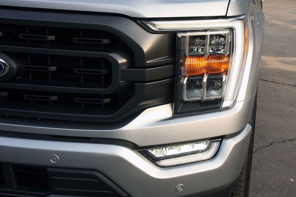 Ảnh Đèn pha xe Ford F-150 2021