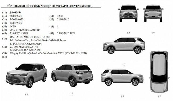 Đã đăng ký bảo hộ, ngày Toyota Raize 2021 ra mắt Việt Nam không còn xa, 'phủ đầu' Kia Sonet
