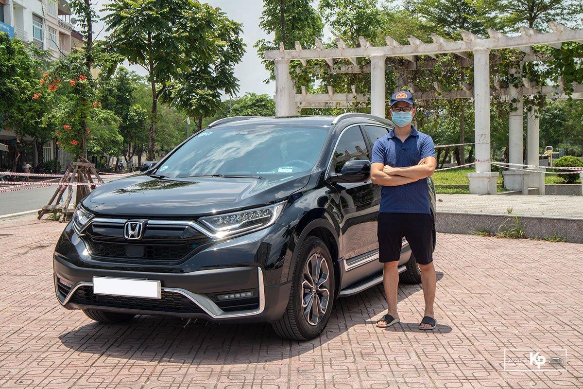 Người dùng đánh giá xe Honda CR-V 2021 a2