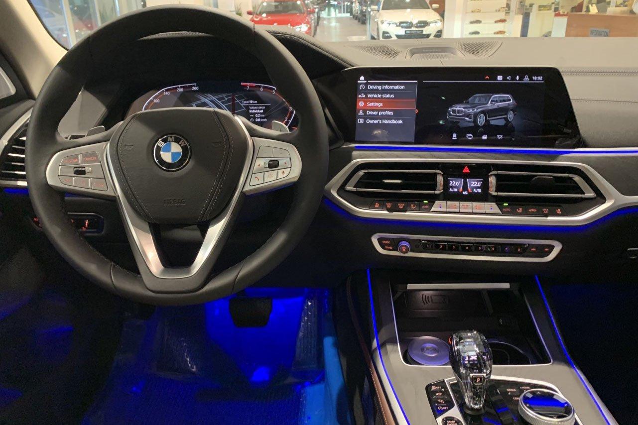 nội thất BMW X7 2021.