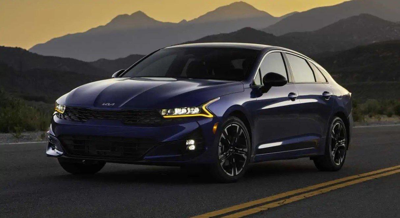 Kia K5 2022 ra mắt, giá khởi điểm từ 549 triệu đồng.
