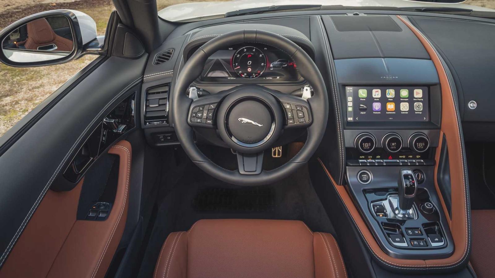 Jaguar F-Type 2022 hứa hẹn mang đến trải nghiệm lái thượng đỉnh.